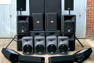 What speaker to use for the festivities
