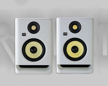 کمپانی KRK نسخههای محدود اسپیکر مانیتورینگ خود را معرفی کرد (Rokit G4 'White Noise')
