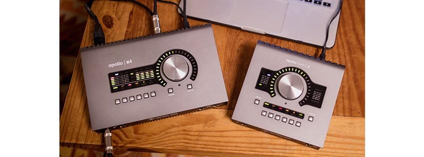 معرفی محصول جدید: Apollo x4 و Twin X از کمپانی UA