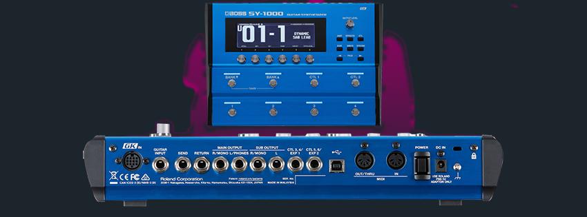 کمپانی BOSS محصول جدید خود یعنی سینتی سایزر SY-1000 را عرضه کرد