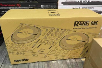 Serato controller with engine plotters from Rane
