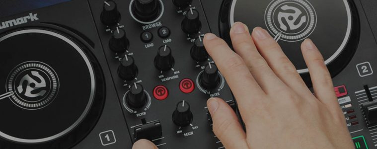 Two controllers Party Mix II and Party Mix Live from Numark