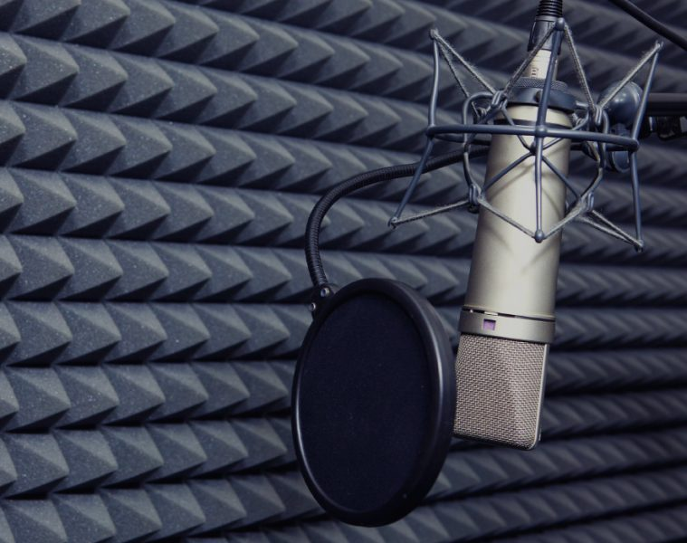What is a pop filter and what does it do?